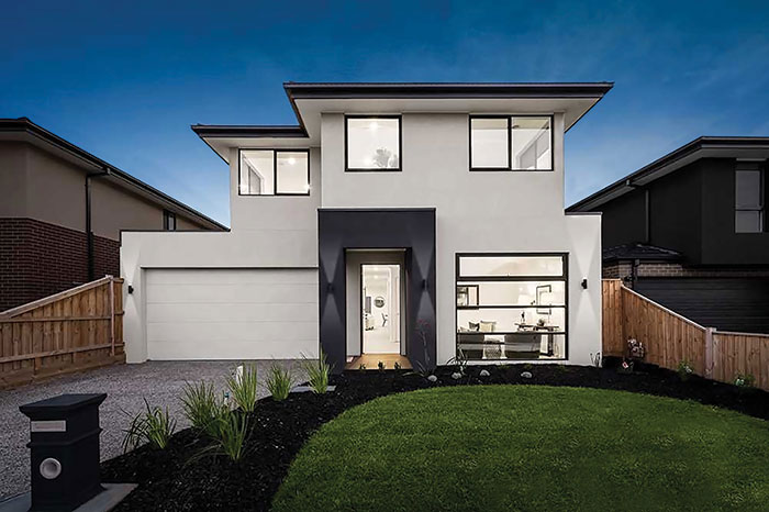 Logan design by Hallbury Homes
