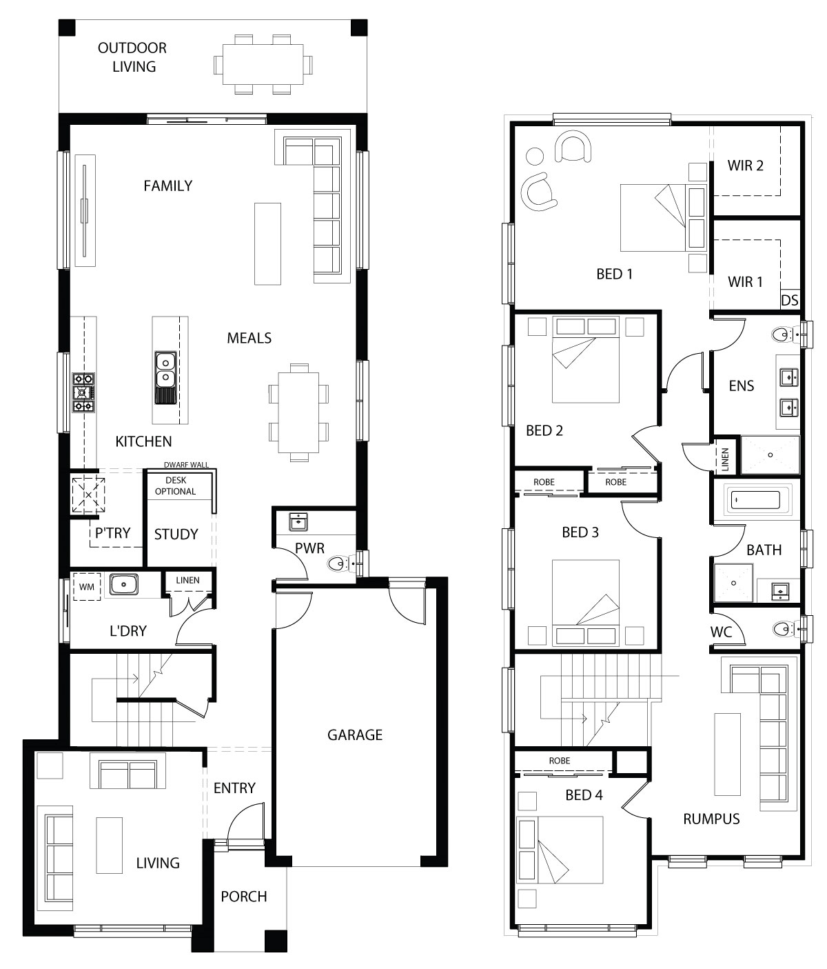 Logan 29 floor plan