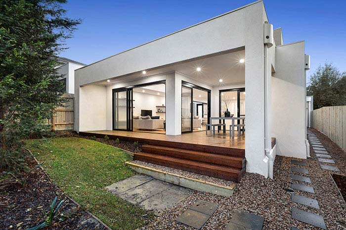 Rear and outdoor living Doncaster East