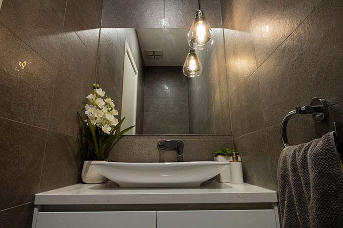Heildelberg Custom Powder Room